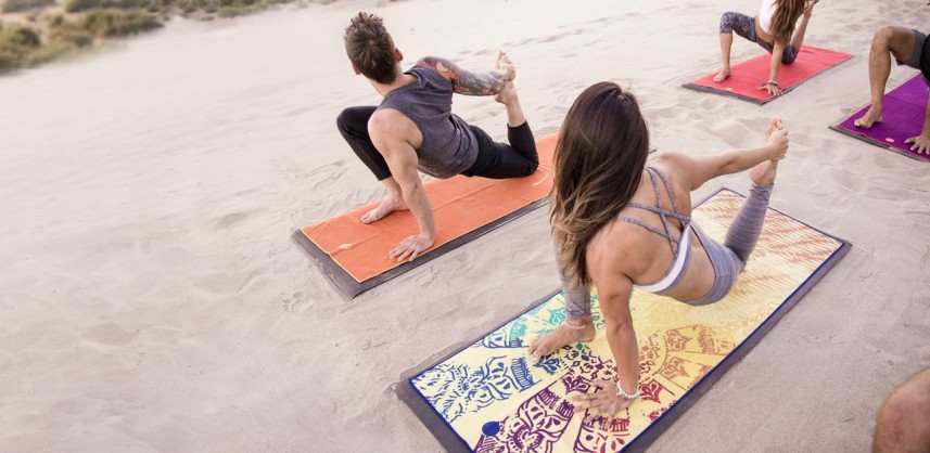 Fitness and yoga mats