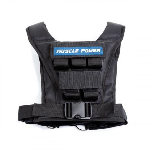 Productafbeelding voor 'Muscle Power gewichtsvest 10 kg'