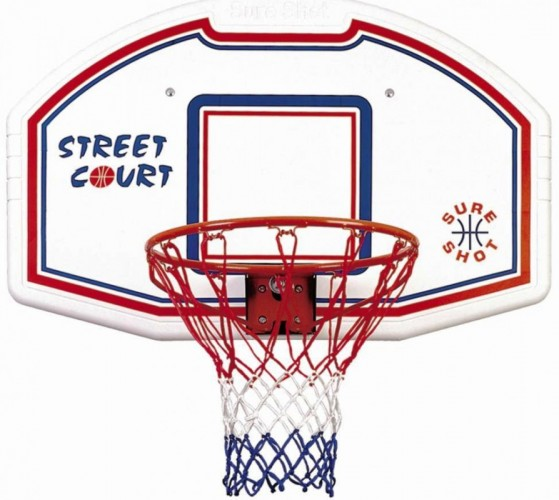 Basketbalbord SURE SHOT met flex ring