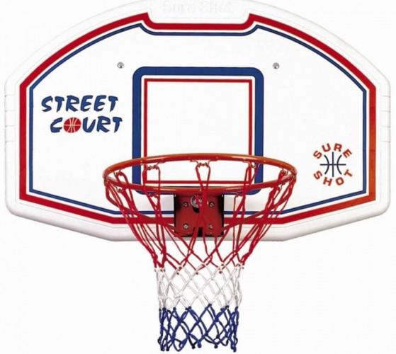 Basketbalbord SURE SHOT met ring