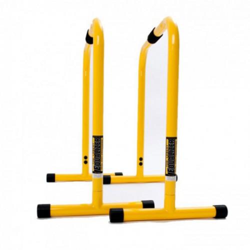 Productafbeelding voor 'Lebert gele parallettes equalizer'