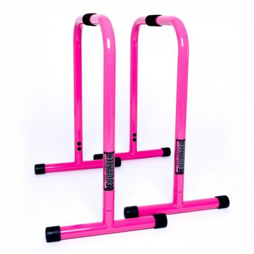 Productafbeelding voor 'Lebert roze parallettes equalizer'