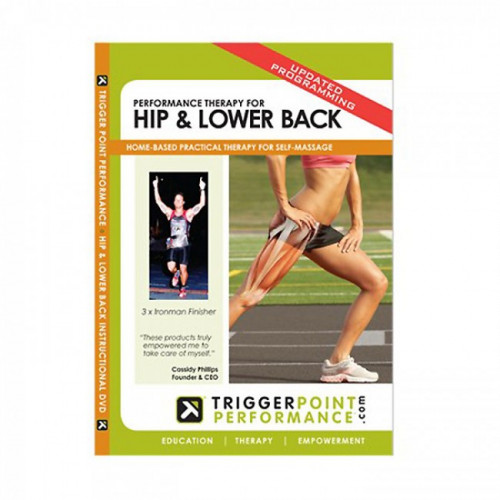 Productafbeelding voor 'Triggerpoint DVD Performance therapy for hip & lower back'