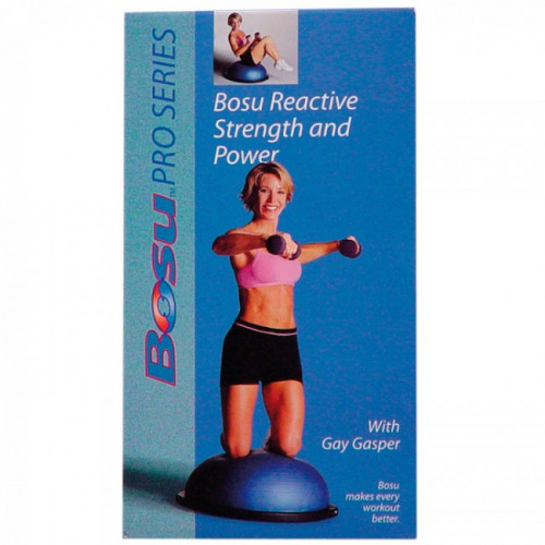 Productafbeelding voor 'BOSU DVD reactive strength & power'