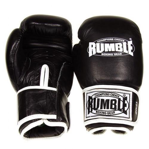 Productafbeelding voor 'Rumble bokshandschoen ready leer zwart'