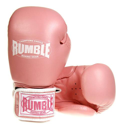 Productafbeelding voor 'Rumble bokshandschoen Ready Leer (Roze)'