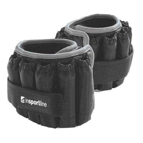 Productafbeelding voor 'Insportline verstelbare enkelgewichten 2 x 2,25 kg'