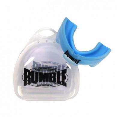 Productafbeelding voor 'Rumble bitje met gel transparant blauw'