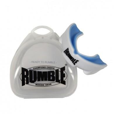 Productafbeelding voor 'Rumble bitje met gel transparant wit'