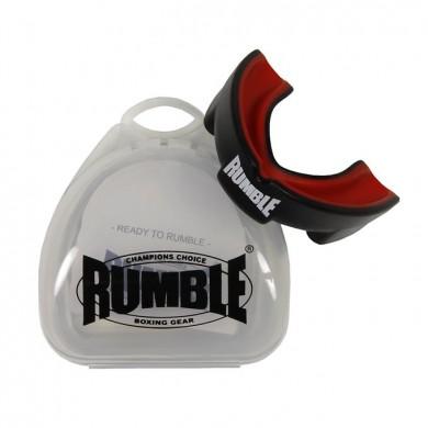 Productafbeelding voor 'Rumble bitje met gel transparant zwart'