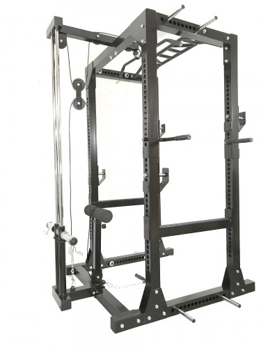 rawfitness power rack pro lat pul squatrekkenrawfitness power rack pro lat pulley thumbnail