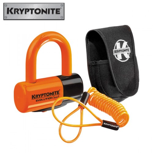 Productafbeelding voor 'Motorslot Kryptonite EVOLUTION 4 Premium Pack schijfremslot'