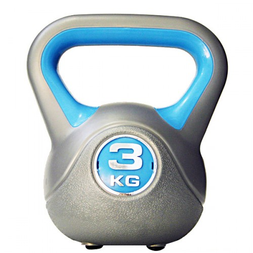 Productafbeelding voor 'Kettlebell 3 kg Kunststof'