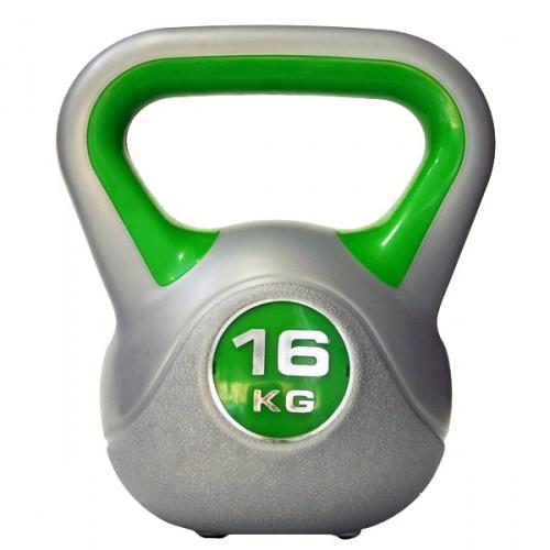 Productafbeelding voor 'Kettlebell 16 kg Kunststof'