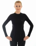 Thermoshirt-THERMO-dames-zwart