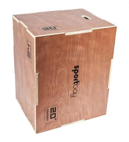 Productafbeelding voor 'Houten Plyobox Sportbay® 3-in-1'