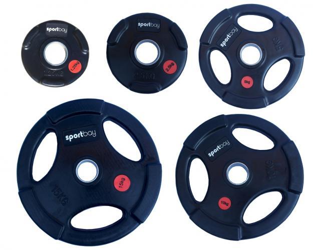 Productafbeelding voor 'Olympische rubber halterschijven (50 mm)'