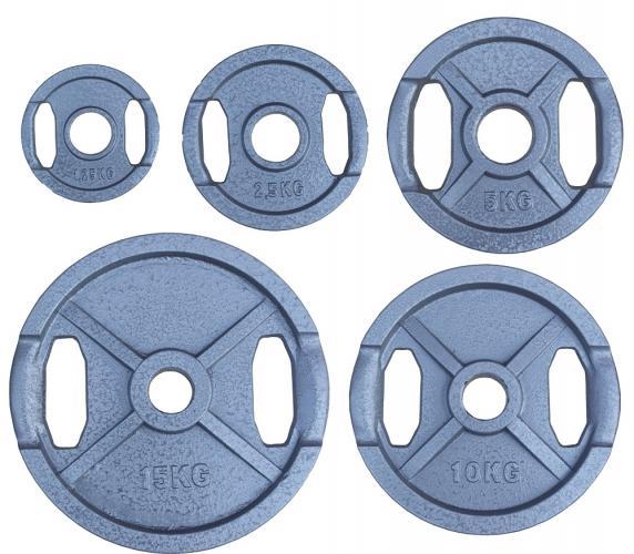 Productafbeelding voor 'Hammerton olympische halterschijven (tot 25 kg)'