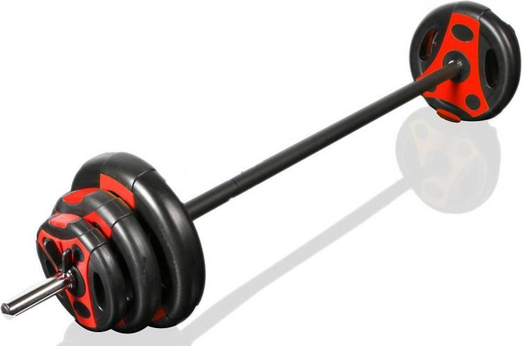 Productafbeelding voor 'GYMSTICK 20 kg halterset met oefeningen'