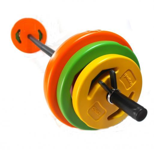 Productafbeelding voor 'Sportbay® bodypump COLOR halterset (20 kg)'