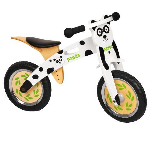 Productafbeelding voor 'WORKER Panda houten baby loopfiets'