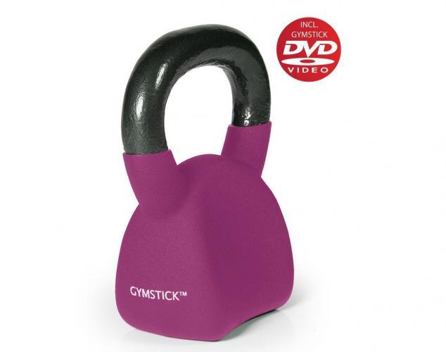 Productafbeelding voor 'GYMSTICK Ergo Kettlebell 4 kg met trainingsvideo'