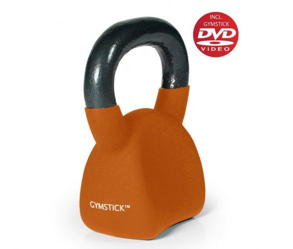 Productafbeelding voor 'GYMSTICK Ergo Kettlebell 8 kg met trainingsvideo'