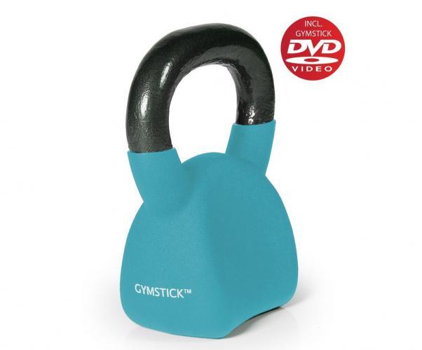 Productafbeelding voor 'GYMSTICK Ergo Kettlebell 10 kg met trainingsvideo'