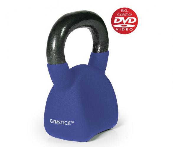 Productafbeelding voor 'GYMSTICK Ergo Kettlebell 16 kg met trainingsvideo'