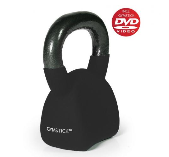 Productafbeelding voor 'GYMSTICK Ergo Kettlebell 20 kg met trainingsvideo'