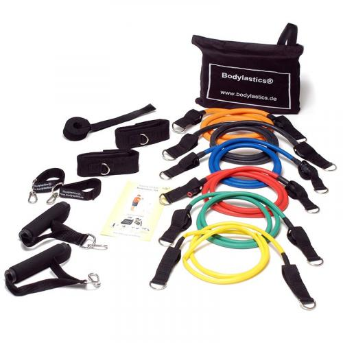 Productafbeelding voor 'FIT-LASTICS resistance tubes set Strongman Complete (Level 1-6)'