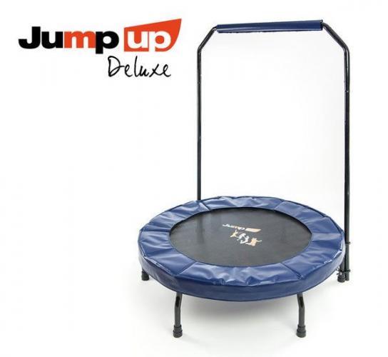 Productafbeelding voor 'JUMP UP Deluxe Pro Trampoline met handvat'