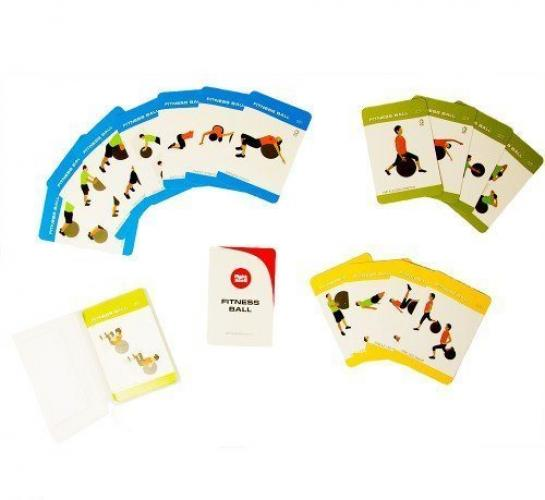 Productafbeelding voor 'FIGHT BACK fitness ball training cards'