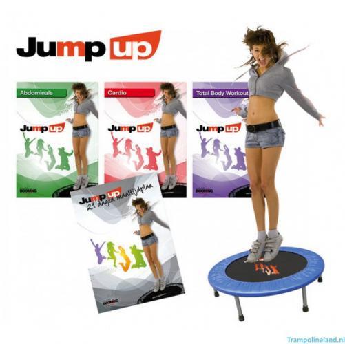 Productafbeelding voor 'Jump Up Fitness Set (Trampoline 97 cm + 3 DVD's)'