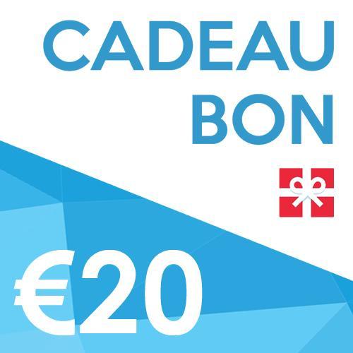 Productafbeelding voor '€20 SPORTBAY Cadeaubon'
