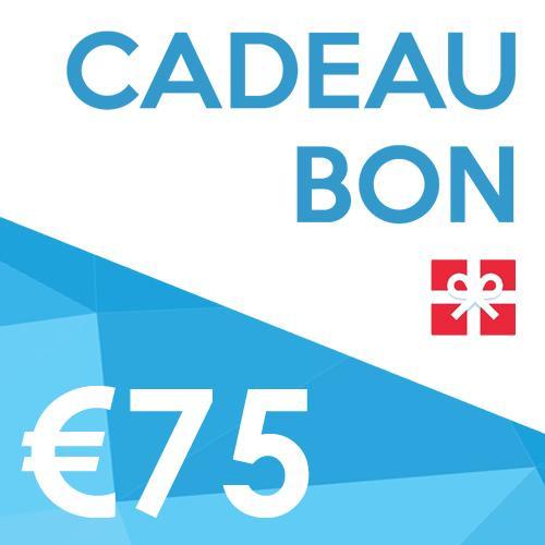 Productafbeelding voor '€75 SPORTBAY Cadeaubon'