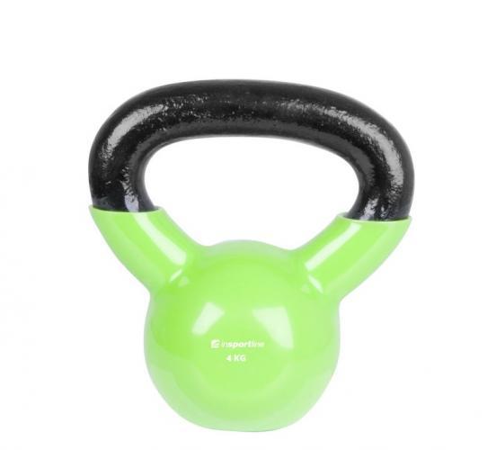 Productafbeelding voor 'Insportline rubber kettlebell (4 kg)'