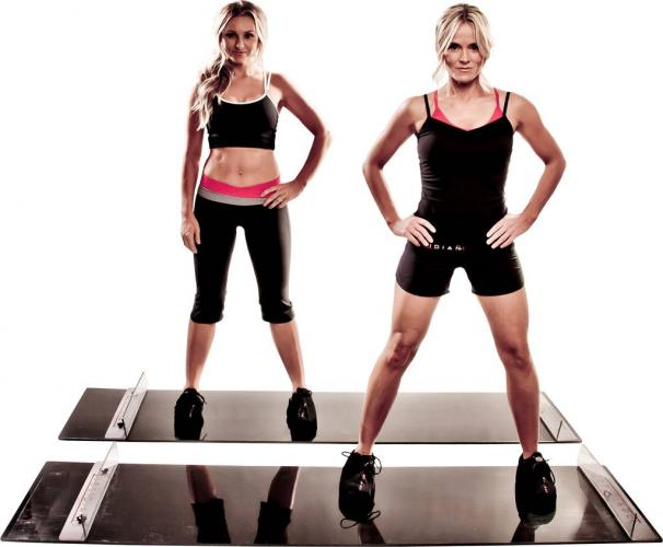 Productafbeelding voor 'OBSIDIAN slide board incl. fitness DVD'