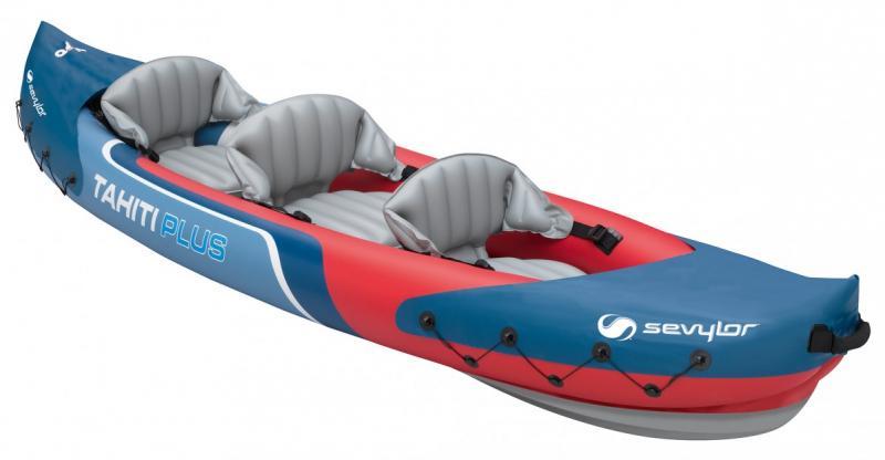 Productafbeelding voor 'Sevylor Tahiti Plus Kayak - 2+1p'