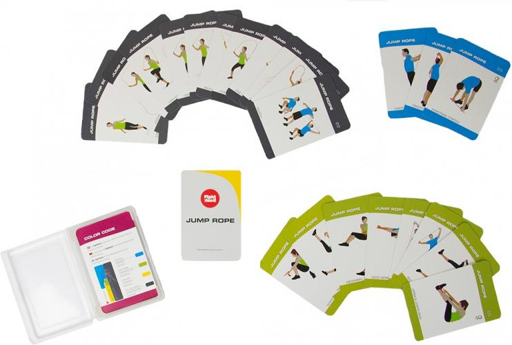 Productafbeelding voor 'FIGHT BACK heavy jump rope training cards'