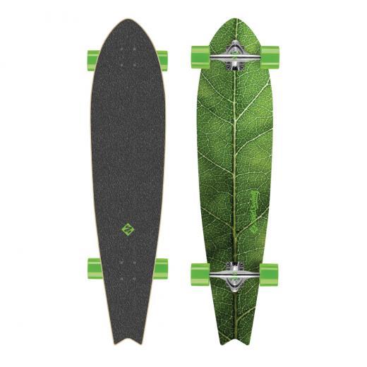 Longboard_Street_Surfing_Fishtail___The_Leaf