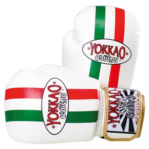 Productafbeelding voor 'Yokkao bokshandschoen leer Italië'