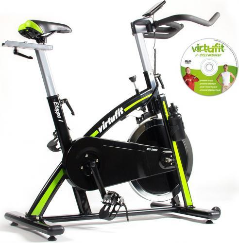 Productafbeelding voor 'VirtuFit Etappe 1 Spinbike met computer incl DVD'