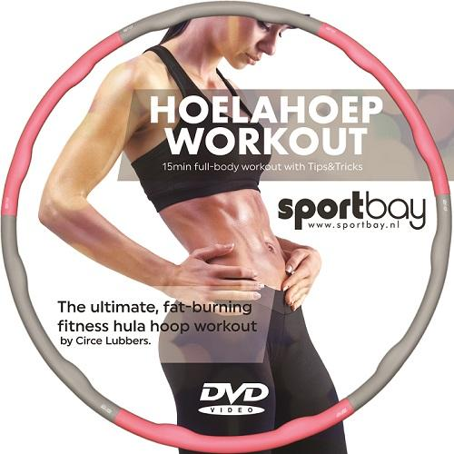 Productafbeelding voor 'Fitness hoelahoep home workout DVD'