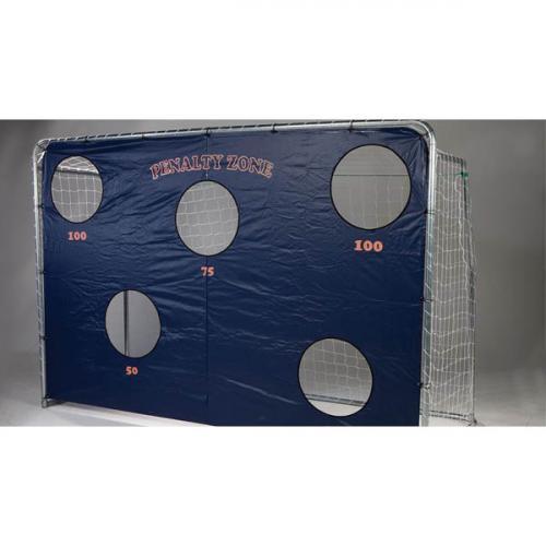 Productafbeelding voor 'Avyna voetbaldoelen set van 2 met trainingswand'