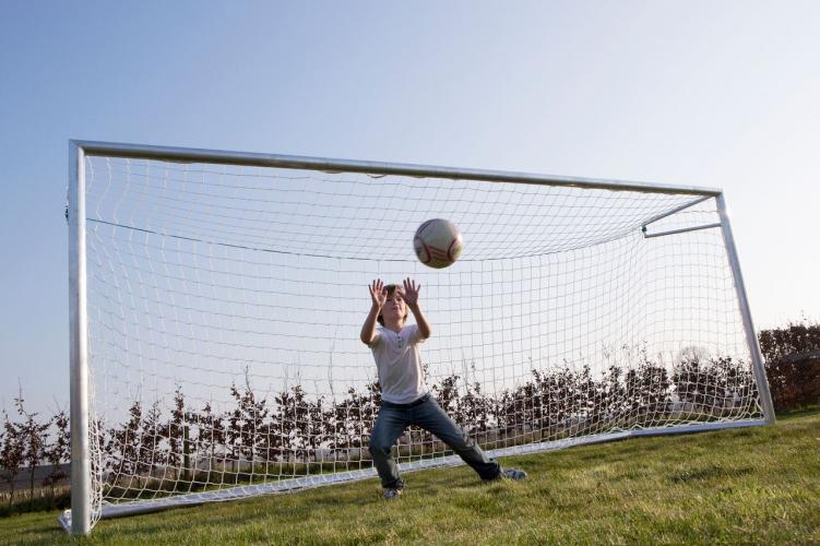 Productafbeelding voor 'Avyna voetbalgoal aluminium 500x200x160 cm'