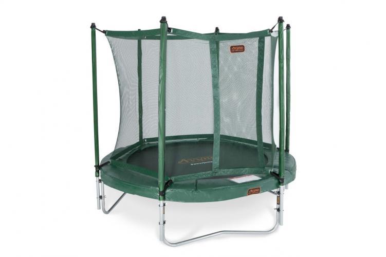 Productafbeelding voor 'Avyna powerjumper groen 430 cm met net en ladder'