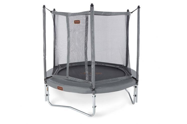 Productafbeelding voor 'Avyna pro-line trampoline grijs 305 cm met net en ladder'