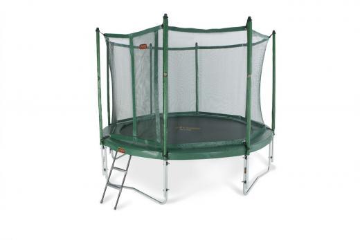 Avyna_pro_line_trampoline_groen_365cm_met_net_en_ladder_main