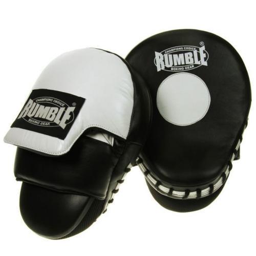 Productafbeelding voor 'Rumble handpads leer curved special (2 stuks)'
